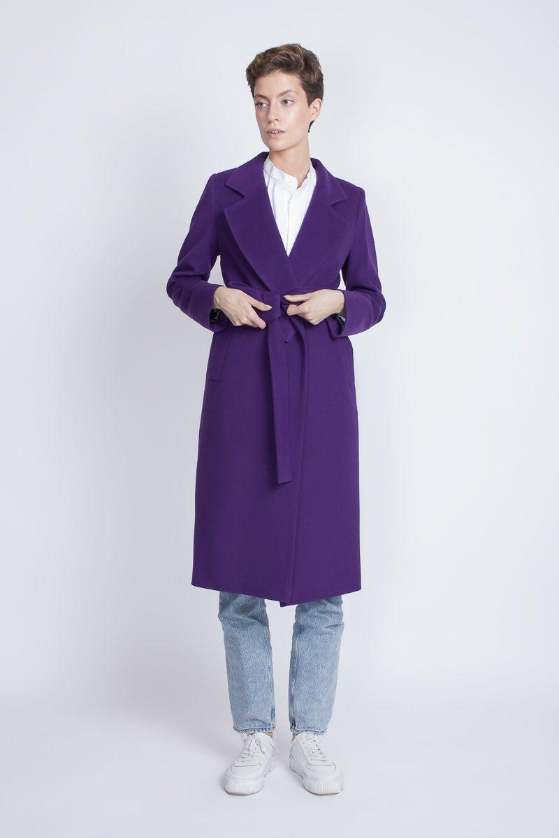 демисезонное современное пальто