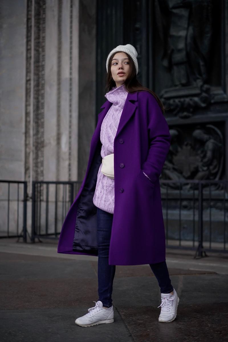 be6e520b496 Женские пальто оверсайз - купить женское пальто оверсайз в СПб в интернет  магазине Dream White