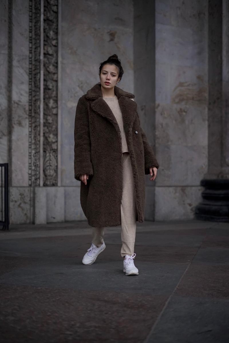 d0bd0dd7a9ad Пальто шерстяное женское - купить женское пальто из шерсти в СПб в интернет  магазине Dream White